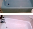 Color change for a North Port Florida bathtub