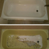 Reglazed bathtub instead of replacing