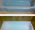 porcelain refinished bathtub in Venice Florida