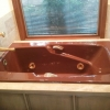 retro brown tub in Sarasota