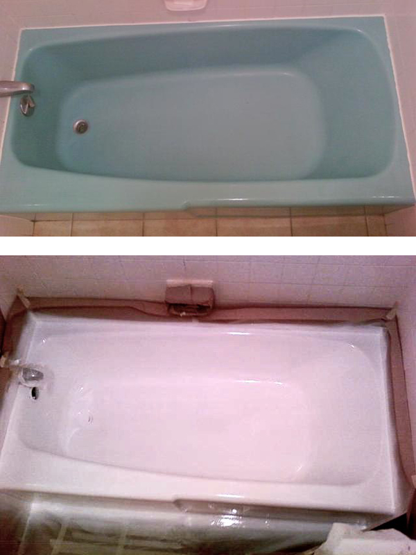 resurfaced tub in Venice Florida