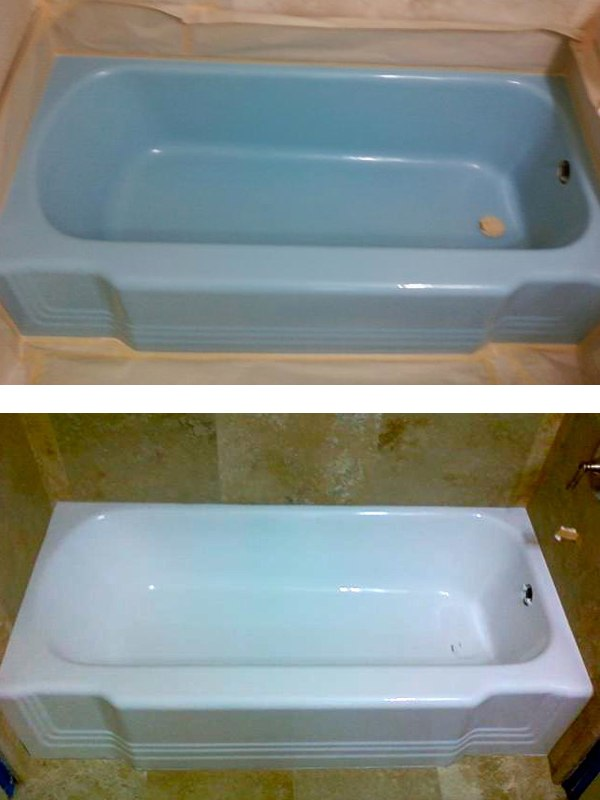 Photos | Bathtub, Sink & Shower Refinishing | Total Koatings