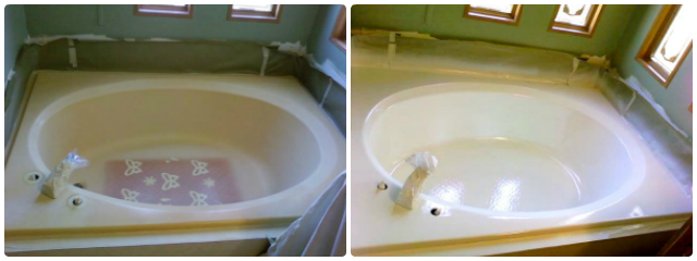 Bathtub Refinishing | Before & After | Total Koatings