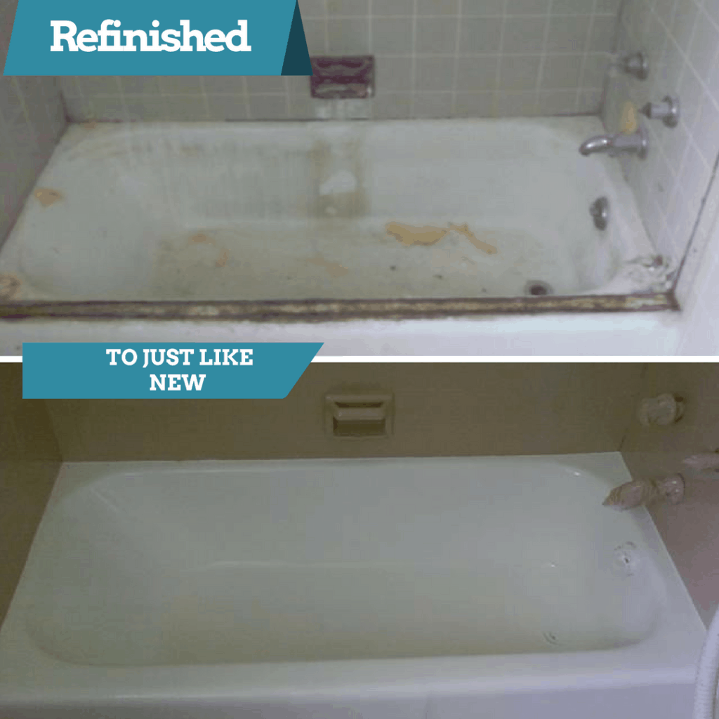 refinish the tub instead of replacing