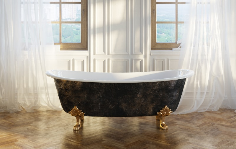 refinish that old antique bath tub