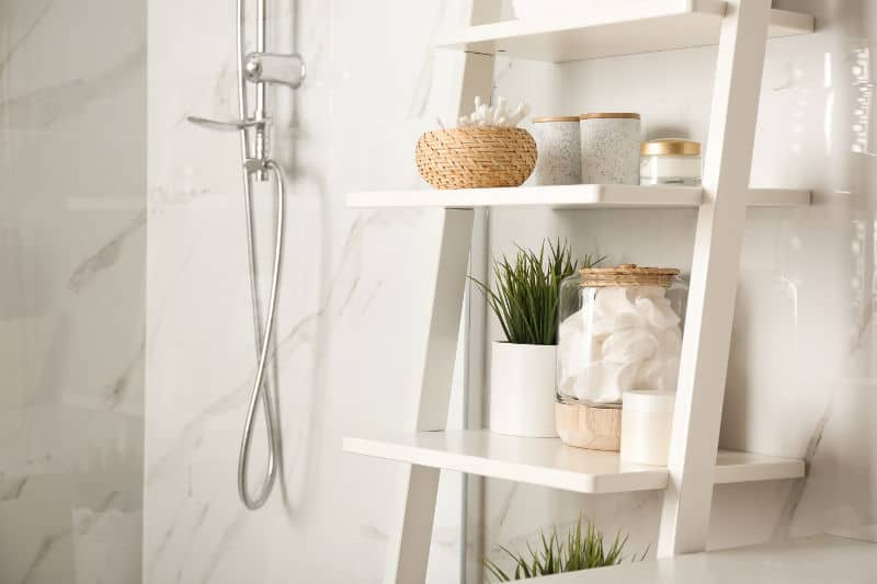Bathroom accessories add style and personality